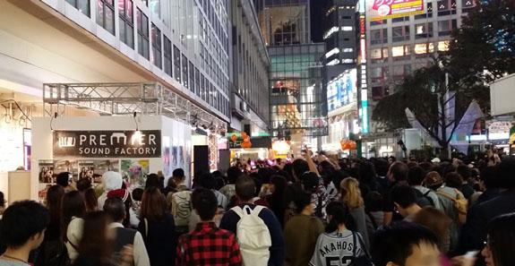 渋谷芸術祭 2014 ハチ公前メインステージ
